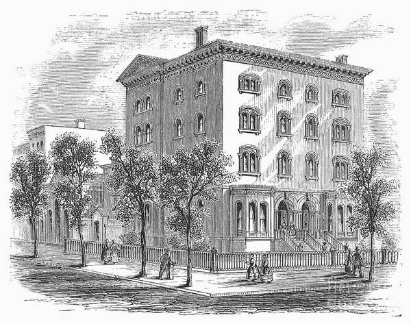 Photograph - New York: Medical College by Granger