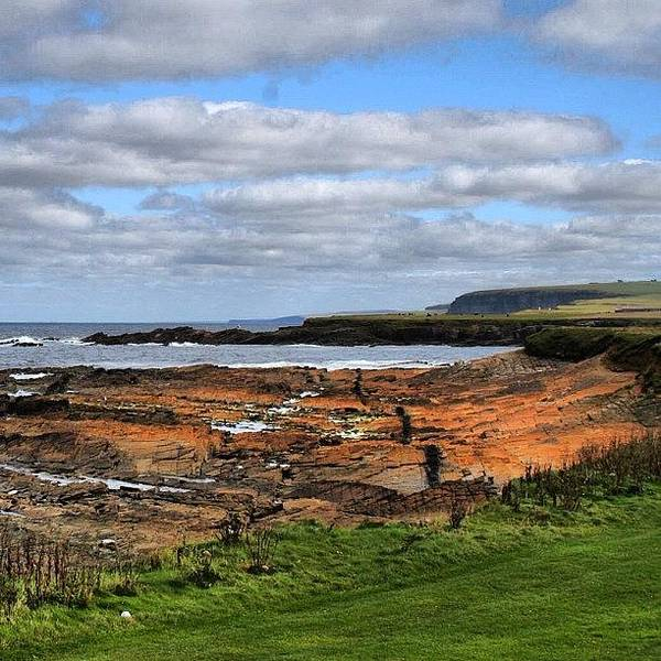 Travel Photograph - Orkney's Landscape by Luisa Azzolini