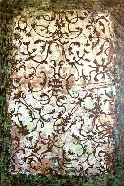 Wall Art - Painting - Ornaments by Lolita Bronzini