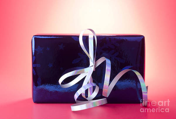 Gift Wrap Photograph - Present by Blink Images