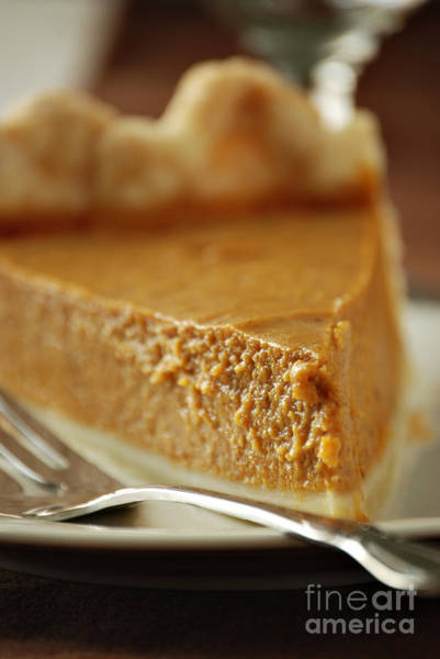 Thanksgiving Photograph - Pumpkin Pie by HD Connelly