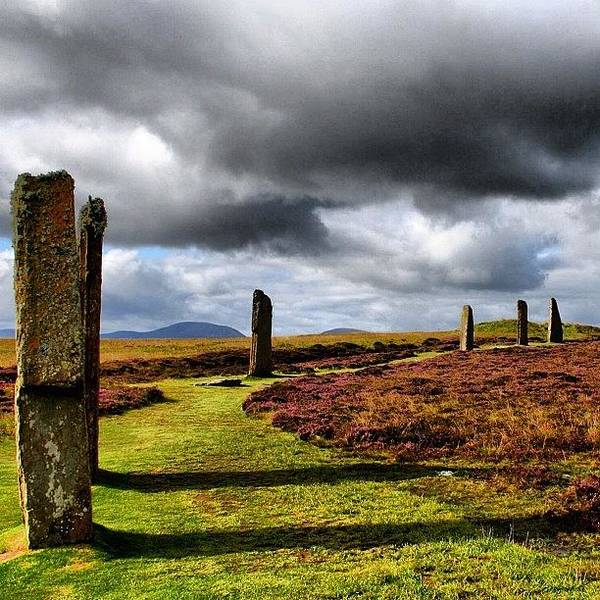 Old Wall Art - Photograph - Ring Of Brodgar by Luisa Azzolini