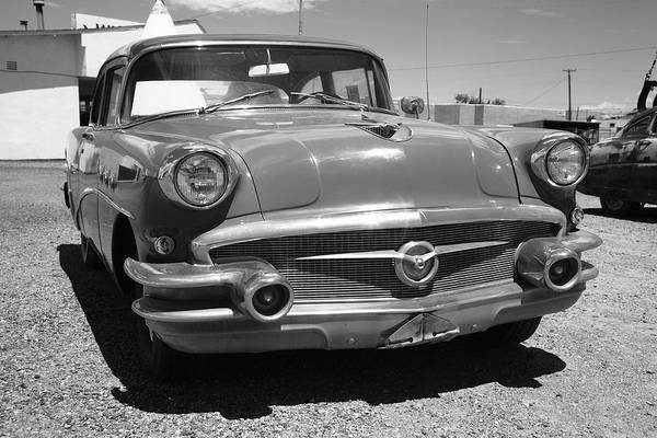 Photograph - Route 66 Classic Car by Frank Romeo