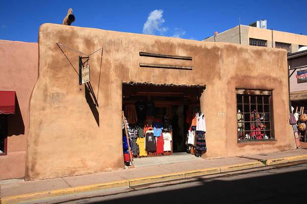 Photograph - Santa Fe Shops by Frank Romeo