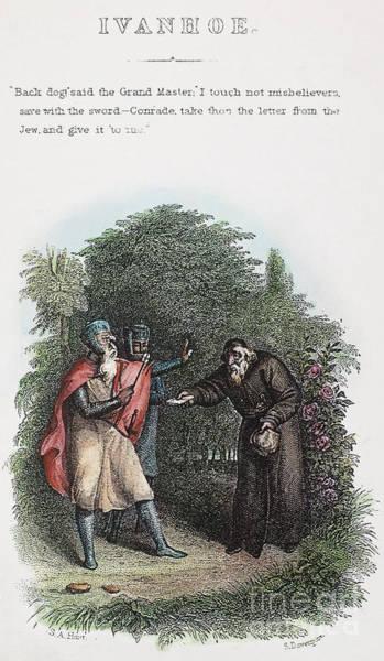 Ivanhoe Photograph - Scott: Ivanhoe, 1832 by Granger