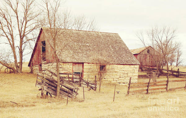 Photograph - Stone Barn by Pam  Holdsworth