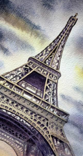 Painting - The Eiffel Tower  by Irina Sztukowski