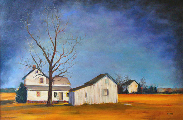 Painting - The Last Farm by Robert Henne