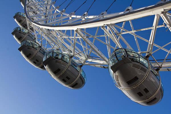 Wall Art - Photograph - The London Eye by David Pyatt