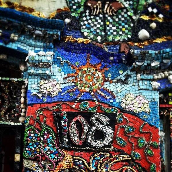 Wall Art - Photograph - The Mosaic House By Susan Gardner by Natasha Marco