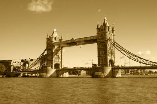 Nikon D5000 Photograph - Tower Bridge by Chris Day