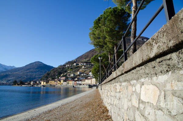 Wall Art - Photograph - Village On The Lake Front by Mats Silvan
