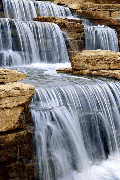 Photograph - Waterfall by Elena Elisseeva