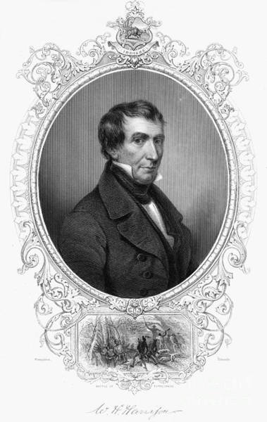 Whig Photograph - William Henry Harrison by Granger