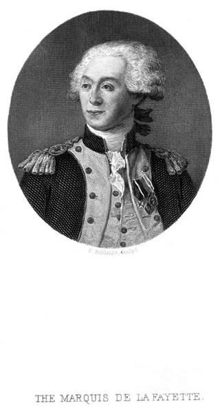 Epaulette Photograph - Marquis De Lafayette by Granger