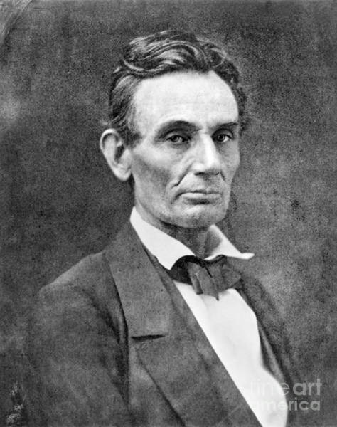 Photograph - Abraham Lincoln by Granger