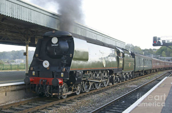 Photograph - 34067 Tangmere At Bristol by David Birchall