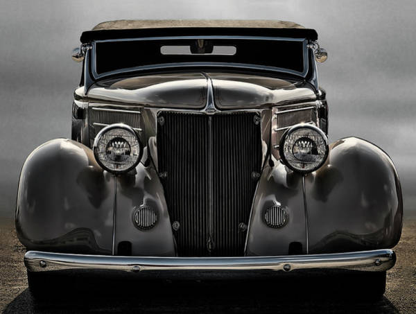 Collector Digital Art - '36 Ford Convertible Coupe by Douglas Pittman