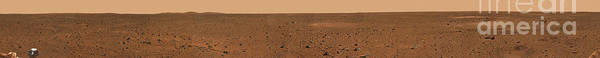 Photograph - 360-degree Panoramic View Of Mars by Stocktrek Images