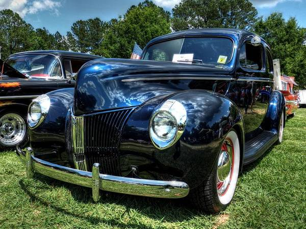 Photograph - '39 Dodge Sedan 001 by Lance Vaughn