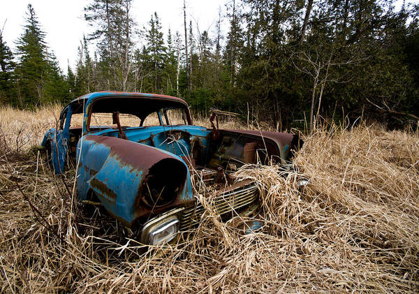 Wall Art - Photograph - 1956 Chevy by Cale Best