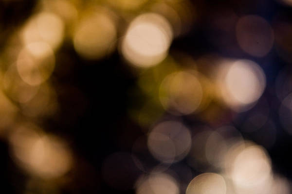 Photograph - Abstract Lights by Odon Czintos