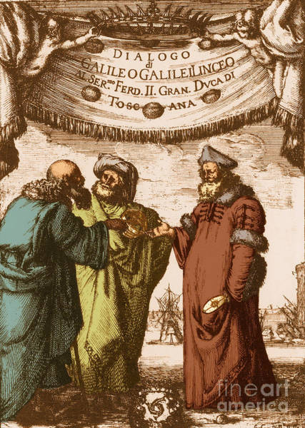 Photograph - Aristotle Ptolemy And Copernicus by Science Source