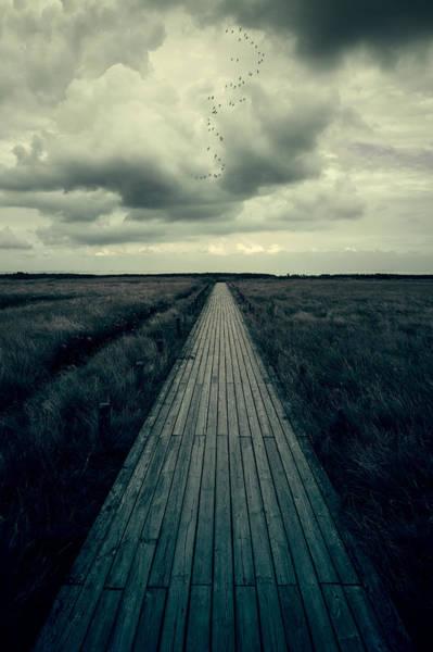 Promenade Photograph - Boardwalk by Joana Kruse