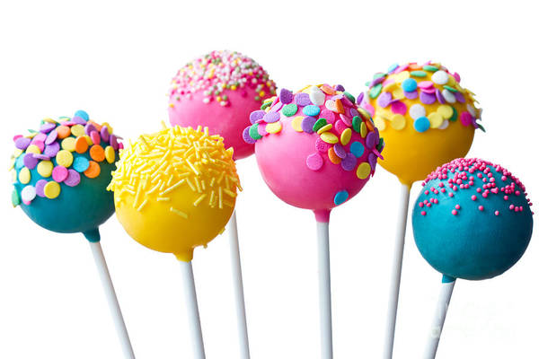 Wall Art - Photograph - Cake Pops by Ruth Black