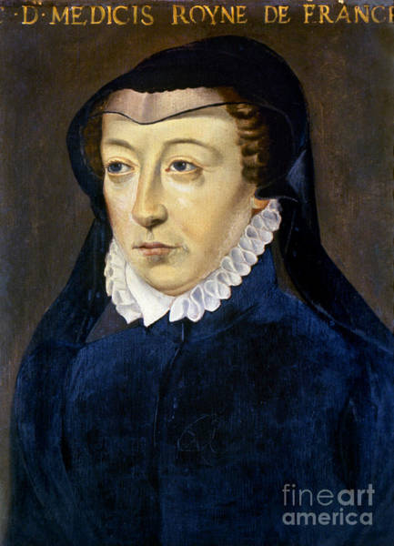 Photograph - Catherine De Medicis by Granger