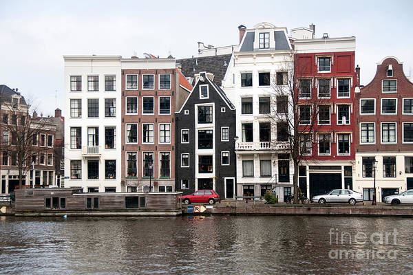 Wall Art - Digital Art - City Scenes From Amsterdam by Carol Ailles