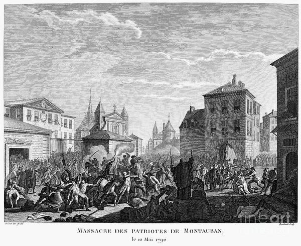 Militiaman Photograph - French Revolution, 1790 by Granger