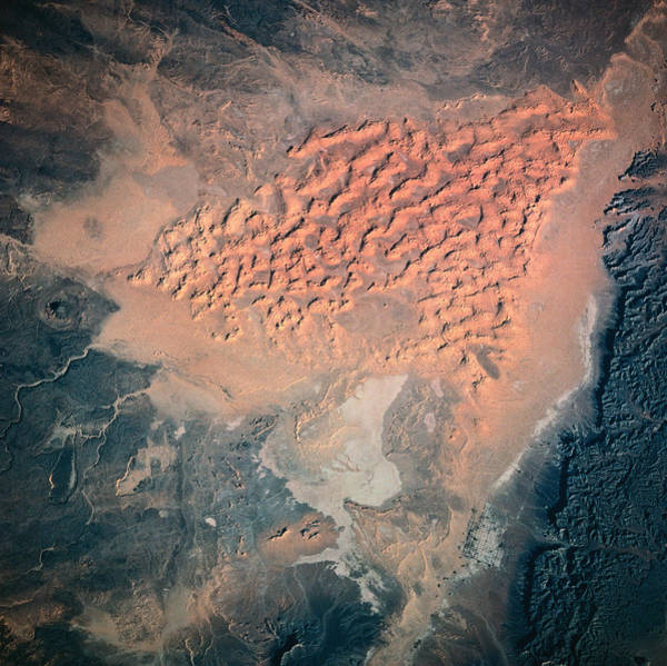 Photograph - Landscape Of Earth Viewed From Space by Stockbyte