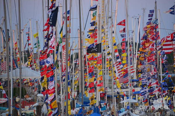 Photograph - Mackinac Race by Randy J Heath