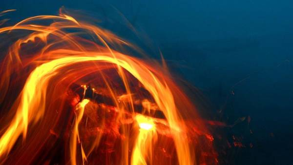 Painting - Phoenix Vs Dragon by Cyryn Fyrcyd