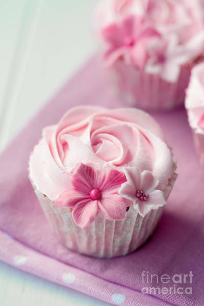 Wall Art - Photograph - Rose Cupcakes by Ruth Black