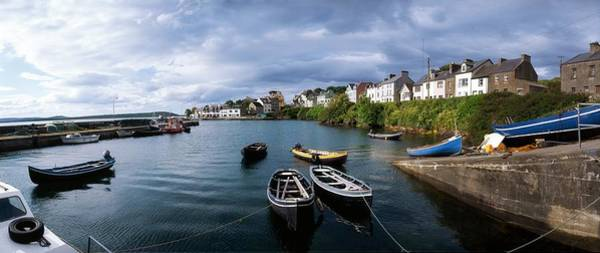 Dock Of The Bay Photograph - Roundstone, Connemara, Co Galway by The Irish Image Collection