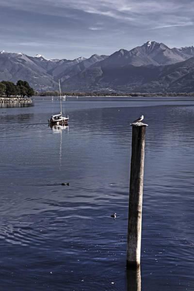 Lake Maggiore Photograph - Sailing Boat by Joana Kruse