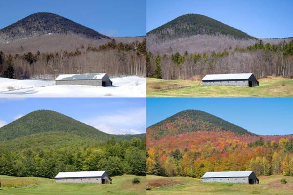 Photograph - 4 Seasons Barn by Larry Landolfi