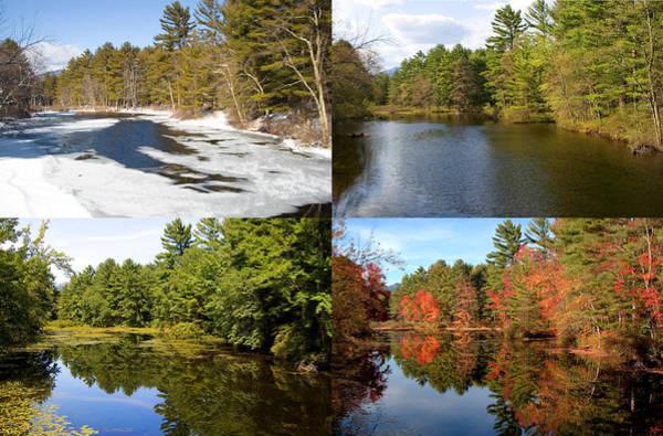 Photograph - 4 Seasons Stream by Larry Landolfi
