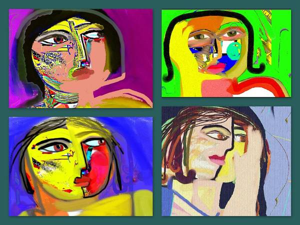 Painting - 4 Sides by Ana Johnson