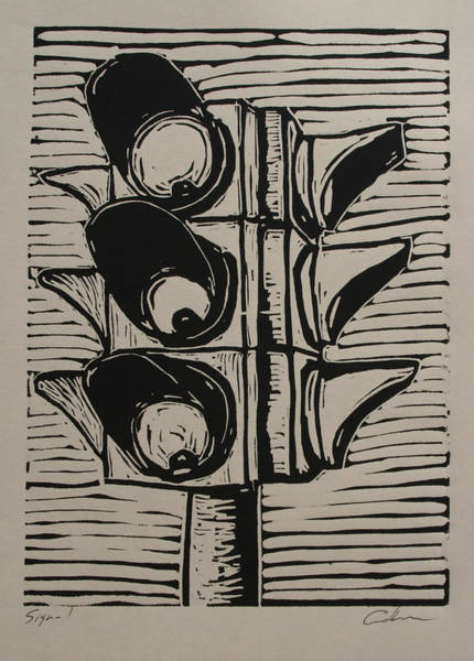 Drawing - Signal by William Cauthern