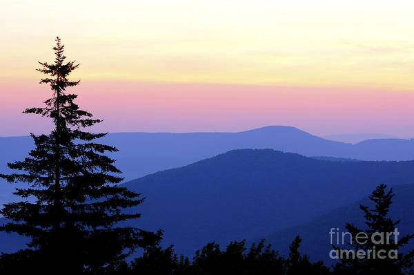 Highland Scenic Highway Wall Art - Photograph - Summer Solstice Sunrise by Thomas R Fletcher
