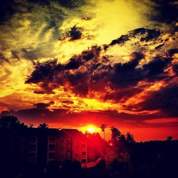 Sun Wall Art - Photograph - Sunset by Katie Williams