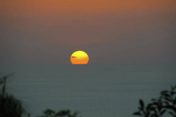 Photograph - Sunset Over The Sea by Michael Goyberg