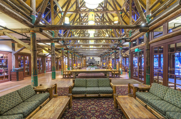 Wall Art - Photograph - The Lobby Of The Paradise Inn In Mount by Rob Tilley