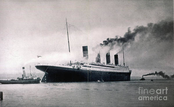 Photograph - The Titanic, 1912 by Granger