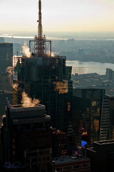 Photograph - 4 Times Square by S Paul Sahm