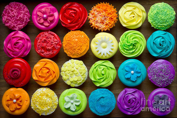 Wall Art - Photograph - Cupcakes by Ruth Black
