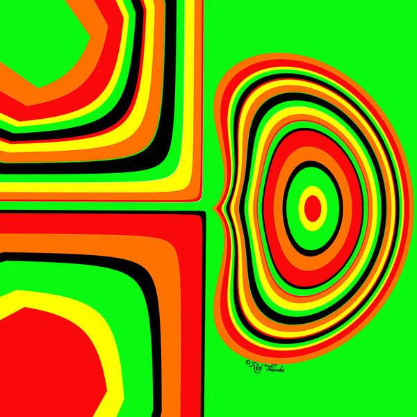 Wall Art - Digital Art - 459 by Rick Thiemke